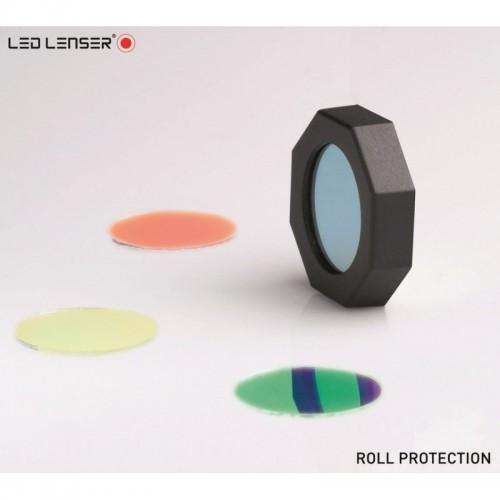 P7.2, T7.2, B7.2, L7, M7,T7M, M7R, M8 PROTECTOR ANTI ROLL CON FILTROS LEDLENSER Linternas y Frontales Led Profesionales