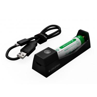 Carregador USB Bateria 14500 Li-Ion 750 MAH 3,7V para frontais