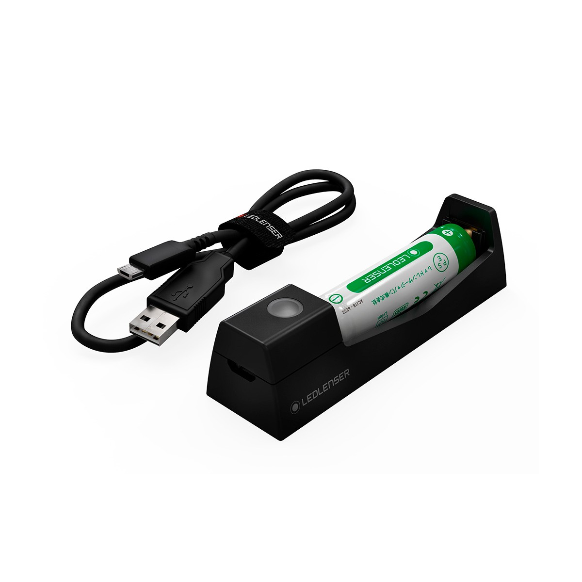 Cargador USB de Batería 14500 Li-Ion 750 MAH 3,7V para frontal