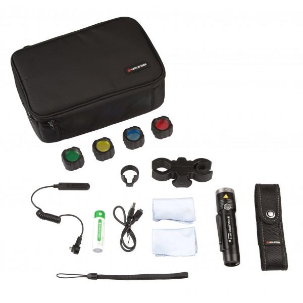 Kit de caza MT10 Linterna Ledlenser para montar en armas LEDLENSER Linternas y Frontales Led Profesionales