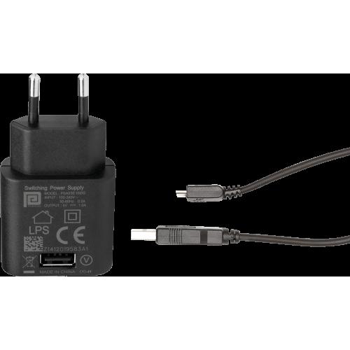 Cargador 100v-220v + USB con cable micro USB LEDLENSER Linternas y Frontales Led Profesionales