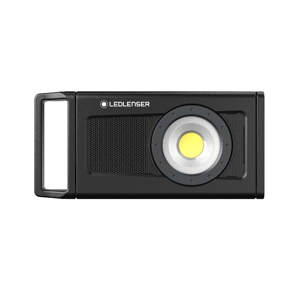 Ledlenser iF4R Music Proyector con Radio. Bluetooth. 2500