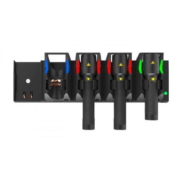 Multi cargador para 5 Linternas y frontales recargables LEDLENSER Linternas y Frontales Led Profesionales