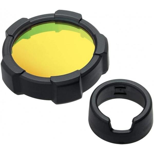 Filtro de color Amarillo + protector LEDLENSER Linternas y Frontales Led Profesionales