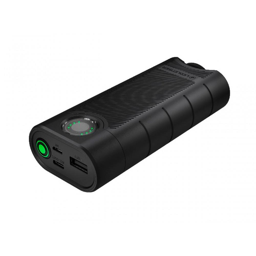 Power bank FLEX10 con 2 baterías 18650 9000 mAh LEDLENSER Linternas y Frontales Led Profesionales