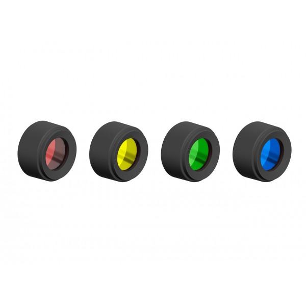 JUEGO DE FILTROS DE COLORES. 29.5 mm LEDLENSER Linternas y Frontales Led Profesionales