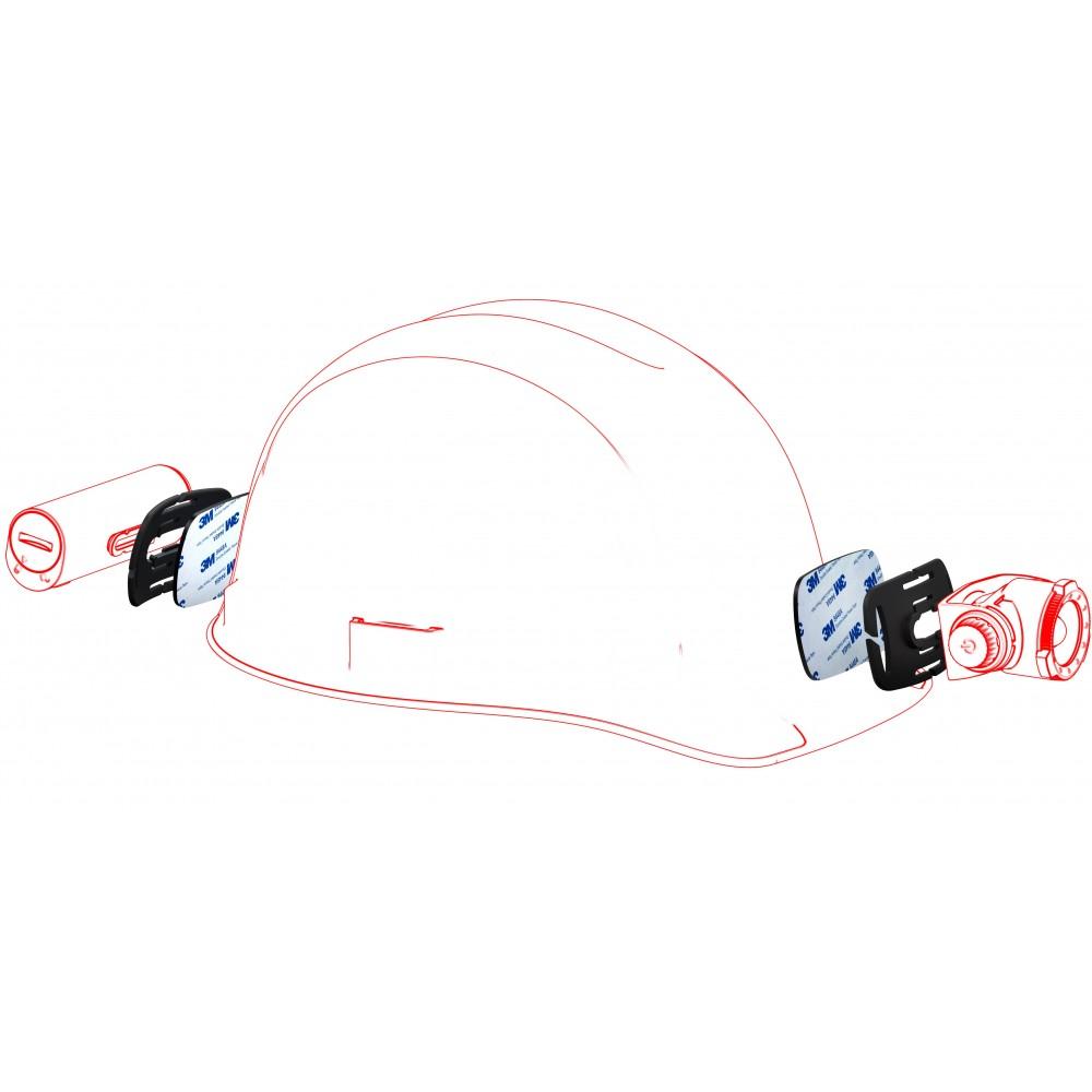 Soporte de casco para Frontales LEDLENSER Linternas y Frontales Led Profesionales